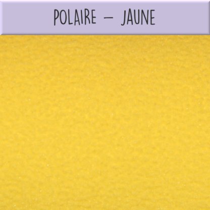Polaire jaune