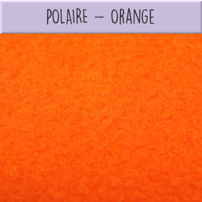 Polaire orange