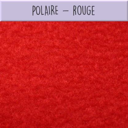 Polaire rouge
