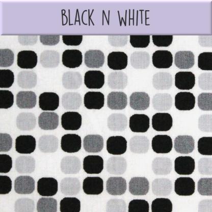 Coton Black N white