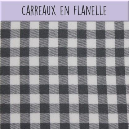 Coton Carreaux en flanelle