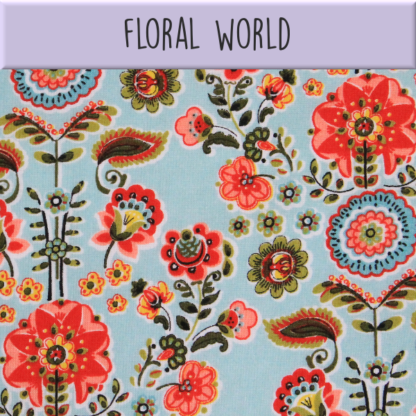 Coton Floral world