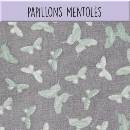 Coton Papillons mentolés