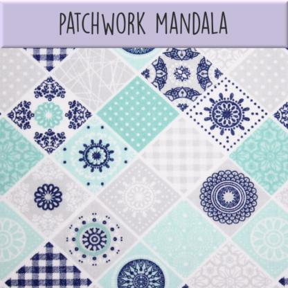 Coton Patchwork mandala