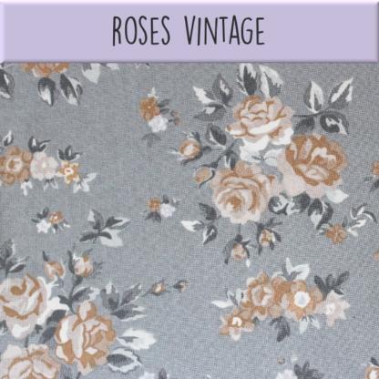 Coton Roses vintage