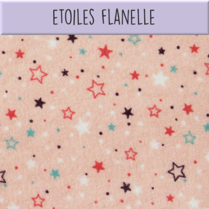 Coton Etoiles flanelle