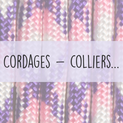 cordages colliers