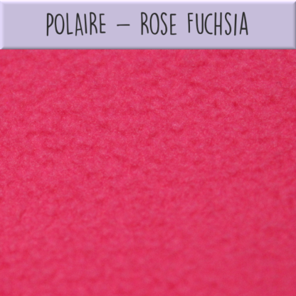 Polaire rose fuchsia