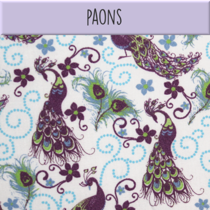 Coton Paons