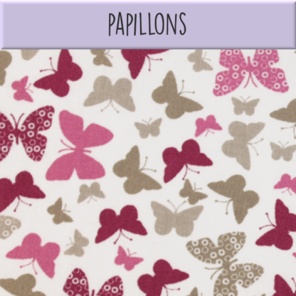 Coton Papillons