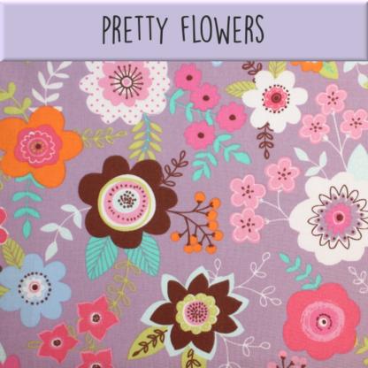 Coton Pretty flowers