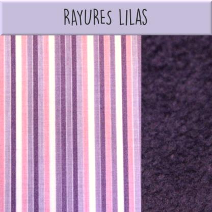 Rayures lilas