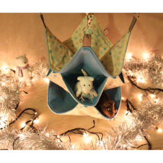 Hamac 3 étages- 28cm x 28cm - Christmas