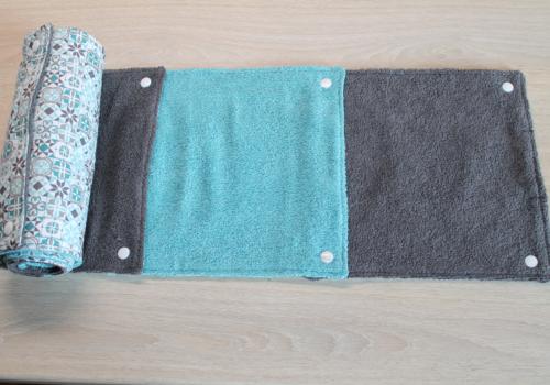Essuie-tout en tissu éponge