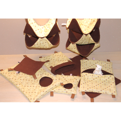Acc NAC Panoplie piou piou chocolat