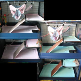 Lot de 2 kit complets personnalisables - Savic Royale 95
