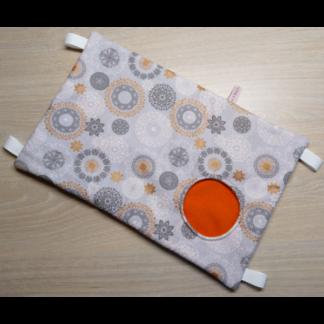 Hamac cache-cache rectangulaire - Mandala cuivré