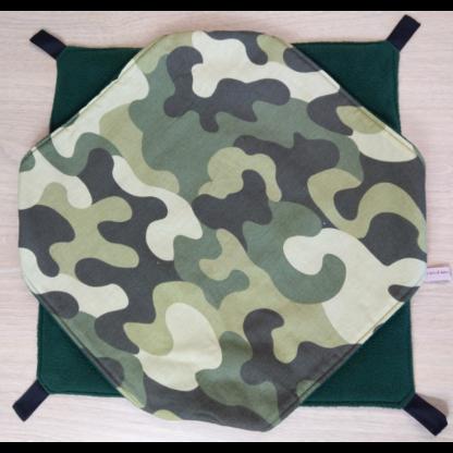 Hamac 2 étages- 38cm x 38cm - Camouflage