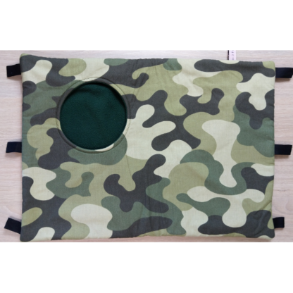 Hamac cache-cache rectangulaire - Taille L - Camouflage