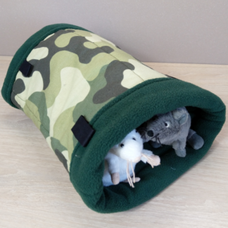 Tunnel avec pattes d'attache - Taille S - Camouflage