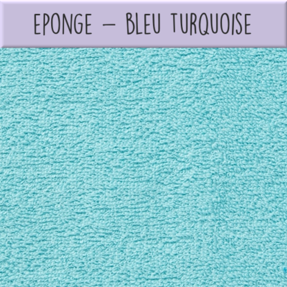 Eponge - Bleu turquoise