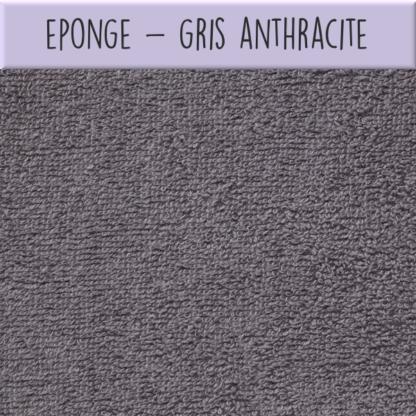 Eponge - Gris anthracite