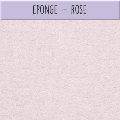 Eponge - Rose