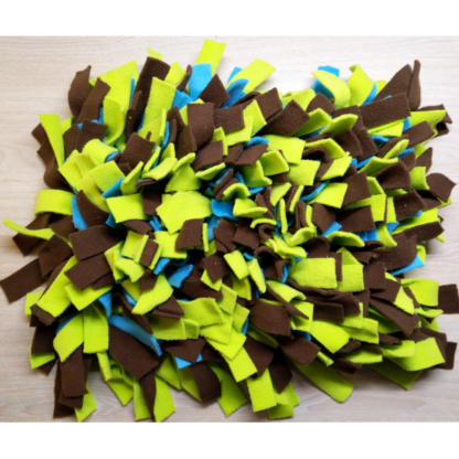 Tapis de fouille (vert, bleu, marron) - 40cm x 30cm