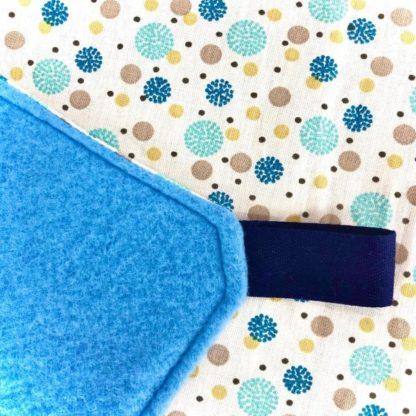 Dodo 2 étages - L - Pois bleus
