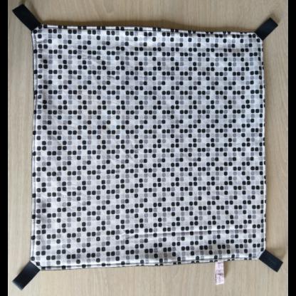 Hamac carré - Taille L - Black N White