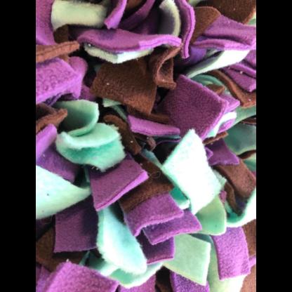 Tapis de fouille Violet, vert menthe, marron2