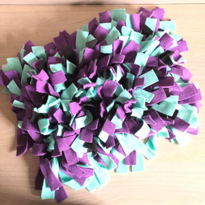 Violet - vert menthe - noir 1