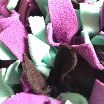 Violet - vert menthe - noir 2