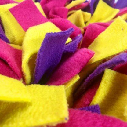Tapis de fouille (Violet, fuchsia, jaune) - 60cm x 40cm