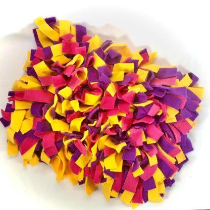 Tapis de fouille (Violet, fuchsia, jaune) - 40cm x 30cm