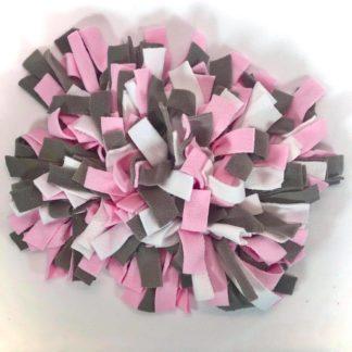 Tapis de fouille (rose, blanc, gris) - 20cm x 30cm