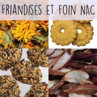 Friandises et foin - NAC